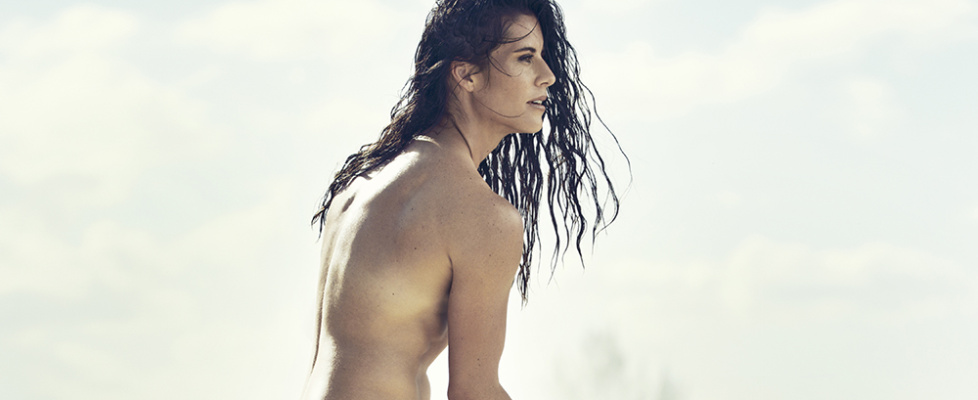 Ali Krieger in the 2015 ESPN The Magazine's Body Issue