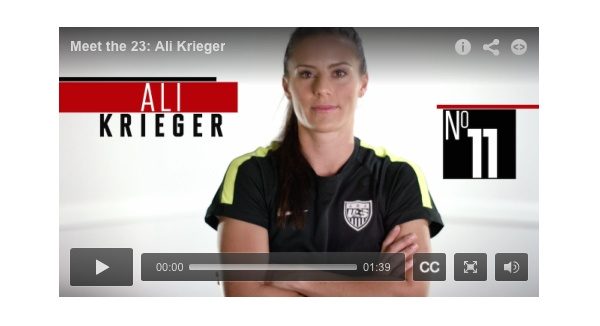 Sports Illustrated Meet the 23: Ali Krieger